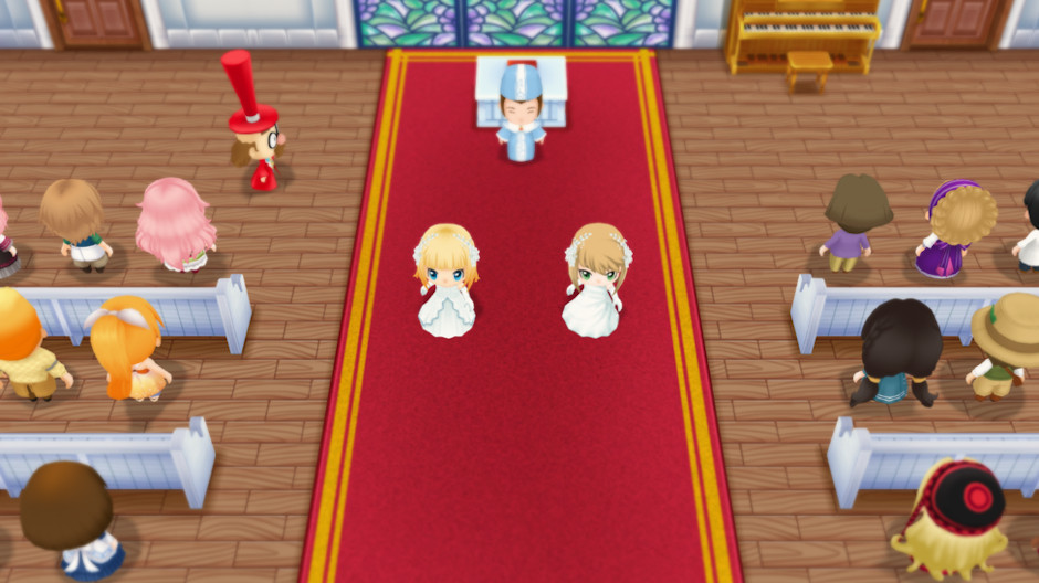 Story of Seasons Friends of Mineral Town Same-Sex Marriage