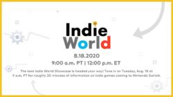 Indie World Showcase August 2020
